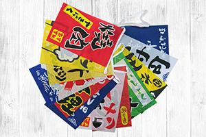 日式風格串旗三角旗