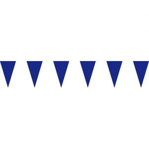 藍色三角串旗