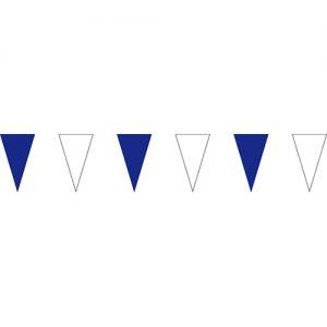 藍白三角串旗;彩色三角串旗