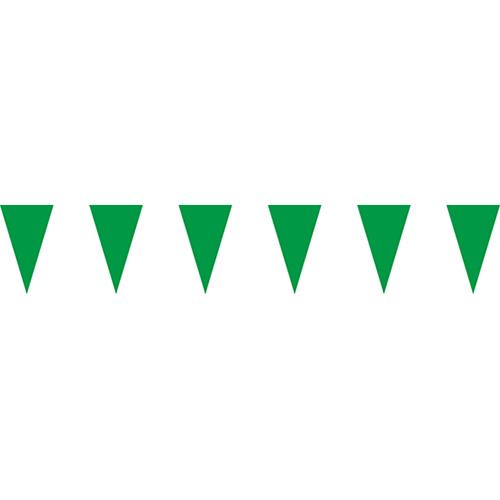 綠色三角串旗;彩色三角串旗