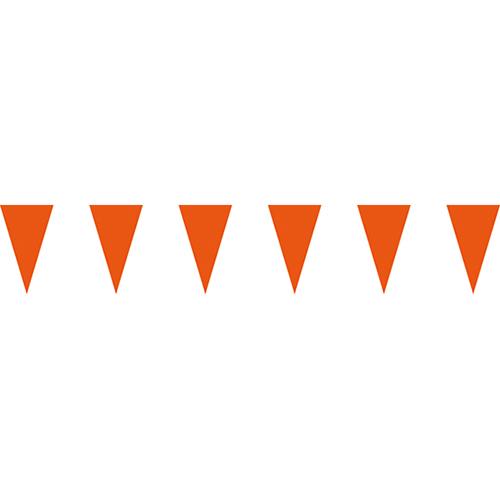橘色三角串旗;彩色三角串旗