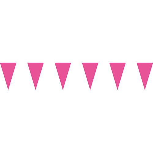 粉色三角串旗;彩色三角串旗