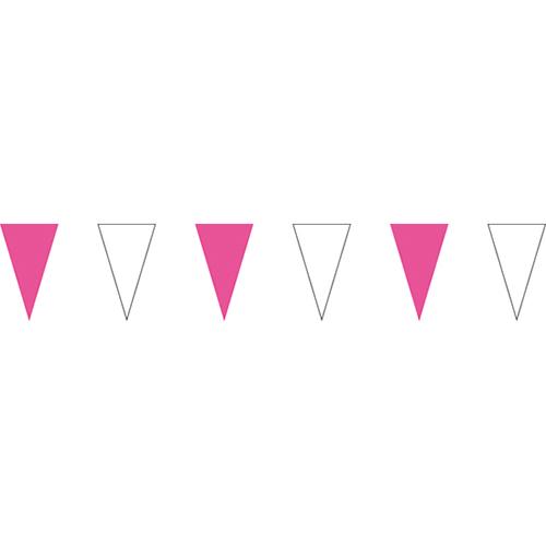 粉白三角串旗;彩色三角串旗