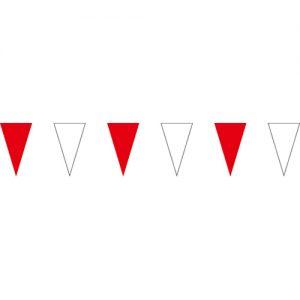 紅白三角串旗;彩色三角串旗