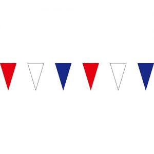 紅白藍三角串旗