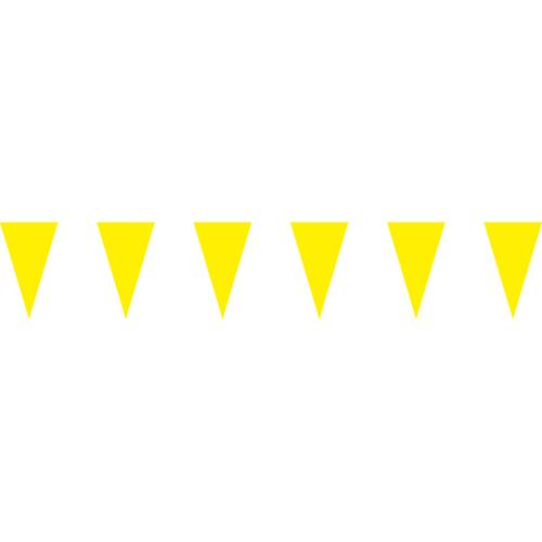 黃色三角串旗