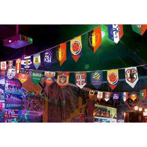 世足賽串旗