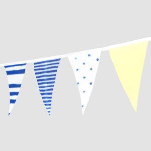 藍海冰沙夏日風串旗