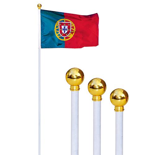 7尺木桿+國旗頭