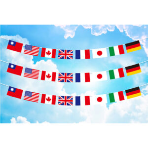 8國國旗串旗;萬國串旗