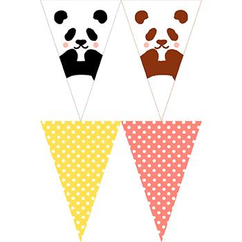 熊貓串旗02